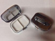 Classico Ford Capri ref75 PELTRO effetto automobile su un metallo argento pillola casella