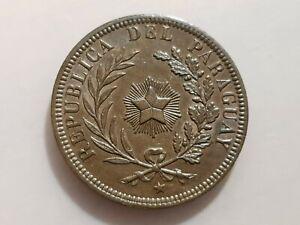 PARAGUAY 4 CENTESIMOS 1870