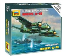 ZVEZDA 6186 - 1/200 WARGAME ADDON DEUTSCHE JUNKERS JU-88 - NEU