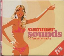 SUMMER SOUNDS - PROMO 3 CD SET: ODYSSEY, SANTANA, FUN BOY THREE, SIMPLY RED ETC