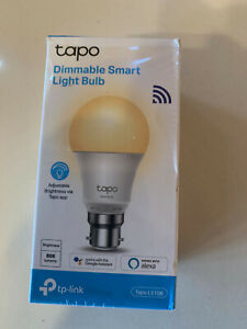BRAND NEW TP-Link Tapo Smart Bulb, Smart WiFi LED Light, B22, 8.7W, MUST GO