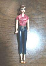 Picnic Barbie #704 Keychain tiny doll - No box, no keychain