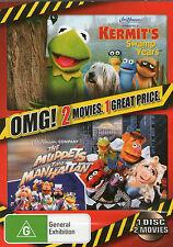 KERMIT'S SWAMP YEARS / MUPPETS TAKE MANHATTAN DVD *New/Sealed* 2 Movies R4