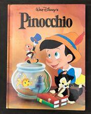 Walt Disney Disney's PINOCCHIO Twin Books  Hardcover