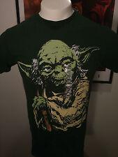 YODA Star Wars saga t-shirt the Force Jedi movie Darth Vader Free Shipping