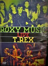 Roxy Music and T. Rex - Live NEW! DVD, CONCERT LIVE  1971 GLAM ROCK MUSIC