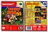 Donkey Kong 64 - Nintendo 64 N64 Custom Case *NO GAME*