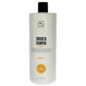 AG Hair Smooth by AG Hair Cosmetics for Unisex - 33.8 oz Shampoo