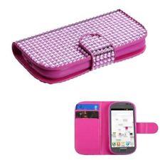 Fundas con tapa color principal rosa para teléfonos móviles y PDAs Samsung
