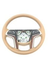 Cadillac Escalade Leather Steering Wheel Choccachino New OEM 2015-2017