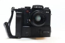 Leica R5 35mm Film Camera + R4 Motor Drive + 50mm F2 Summicron-R Lens -BB 426-
