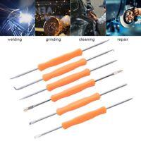 6 in 1 Solder Assist Disassembly Steel Tools for BGA Repair Rework Weld Kit New