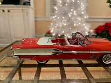 Danbury Mint 1958 Pontiac Bonneville Convertible 1:24 Scale Diecast Model Car