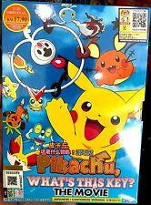 Pokemon 3 Movie (Pikachu What's This Key + Eevee Friends + Meloetta's) ~ DVD ~