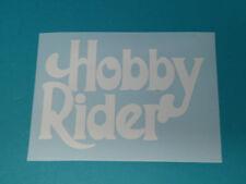 Hercules Hobby Rider Sticker Schriftzug Dekor Aufkleber WEISS