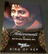MICHAEL JACKSON 2011 Panini PLATINUM Achievements SP #117 The King Of Pop RARE