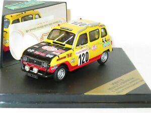 1/43 Renault 4  SINPAR 4x4  - Paris Dakar Rallye 1980  #120  C & B Marreau