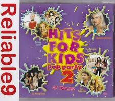 Pink+Britney Spears+S Club7+Steps+Rihanna- Hits for kids Pop party 2 2CD 2006 AU