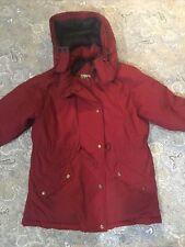 Women's Vintage L. L. Bean Hooded Goose Down Parka Coat M Petite