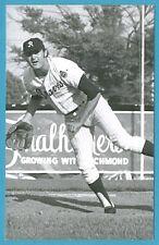 Larry Jasta (Richmond) Vintage Minor League Baseball Postcard