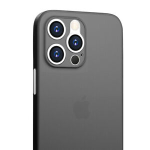 Dünne iPhone 12, iPhone 13, Pro, Pro Max, mini Hülle, Ultra Slim iPhone Cover