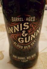 INNIS & GUNN SCOTTISH ALE RUM BARREL with Cap Beer Bottle 11.2 Oz Empty