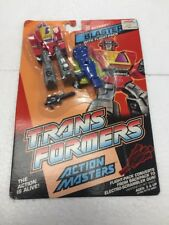 1989 Transformers Action Masters Blaster with Flight-Pack by Hasbro