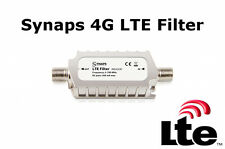 4G LTE Signal Filter / Blocker 5-790MHz F Type Saorview / Freeview