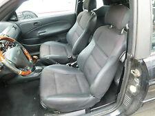 Ford Escort Cabrio MK7 seltene Teillederausstattung Innenausstattung Sitz Leder