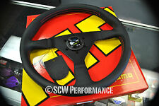 Genuine SPOON Sports Momo 350MM Red Stitch Steering Wheel JDM EG AP1 NA1 EK EM1