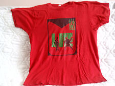 RUN DMC LIVE 80'S VINTAGE SCREEN STARS TOUR T-SHIRT RARE RAP HIP-HOP QUEENS NY