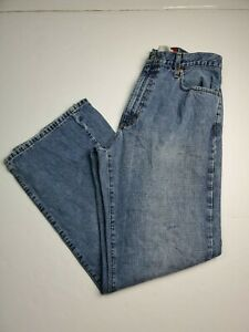 Vintage Quiksilver Quik Jeans Denimm Relaxed Fit Med Wash Mens Actual Size 34X32