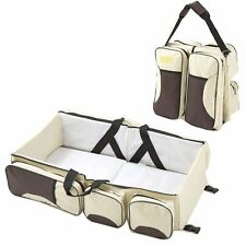 3 in 1 Changing Bag baby Traveling Diaper mat Multifunctional Foldable Carrycot