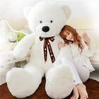 More Huge Toy White Stuffed Giant Plush Teddy Bear Soft Cotton Dolls Gift 120 cm