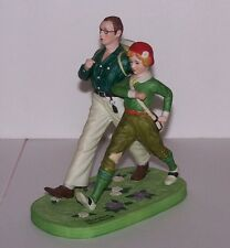 "Norman Rockwell Figurine by Danbury Mint ""Spring"" Excellent Condition"