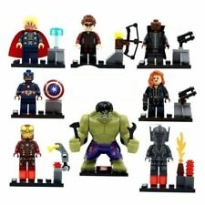 8 Pcs FIT LEGO DC MARVEL SUPER HEROES MINIFIGURES AVENGERS MINI FIGS BLOCKS 2020