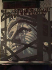 JACKSON BROWNE - LIVES IN THE BALANCE - LP 1986