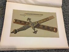 Sword of Joseph Bonaparte and Baton of Marshal Jourdan 12 X 16 Antique Print