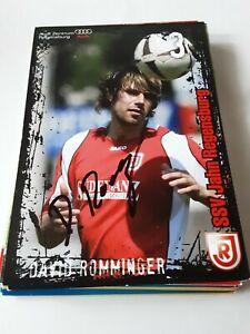 Signierte AK David Romminger Jahn Regensburg NEU