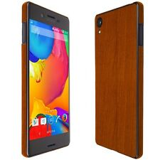 Skinomi Light Wood Skin+Clear Screen Protector for Sony Xperia X