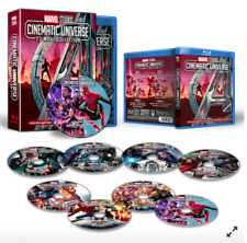 All 23 Marvel Cinematic Universe Movie Collection 8 Blu-Ray Dvd Fast Free Ship!