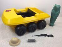 Vintage GI Joe Adventure Team Secret Of The Mummys Tomb ATV Vehicle AS IS 1970's