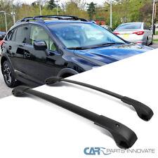 10-17 Subaru Impreza Crosstrek Black Roof Top Cross Bars Luggage Rack Carrier