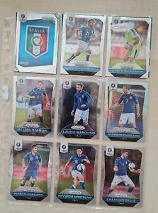 PRIZM UEFA Euro 2016, 12 x Base-Cards, ITALIEN - ITALY, Pirlo, Buffon, Verratti
