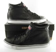 Converse All Star Pro Leather Mid Sneaker BLACK 136763C 10 MEN