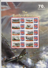 Battle of Britain Smiler Stamp Sheet Signed Tony Iveson DFC. Tirpitz/ Dambusters