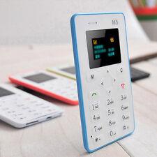 Mini Handy Cell Phone Niedrige Strahlung Kartentelefon MP3 Für Kinder Geschenk