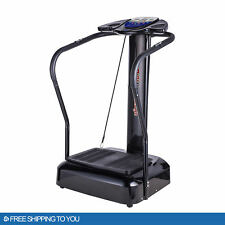 2020 Fitness Whole Body Vibration Plate Trainer Machine 2000W Home GYM Sports