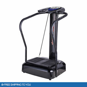 2021 Fitness Whole Body Vibration Plate Trainer Machine 2000W Home GYM Sports
