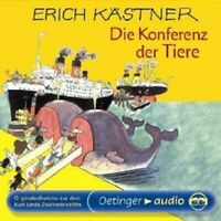 ERICH KÄSTNER - DIE KONFERENZ DER TIERE  CD NEW